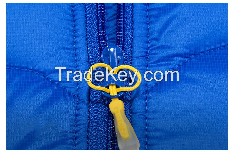 Ultra Thin Foldable Down Jacket 90% White Duck Down Jacket