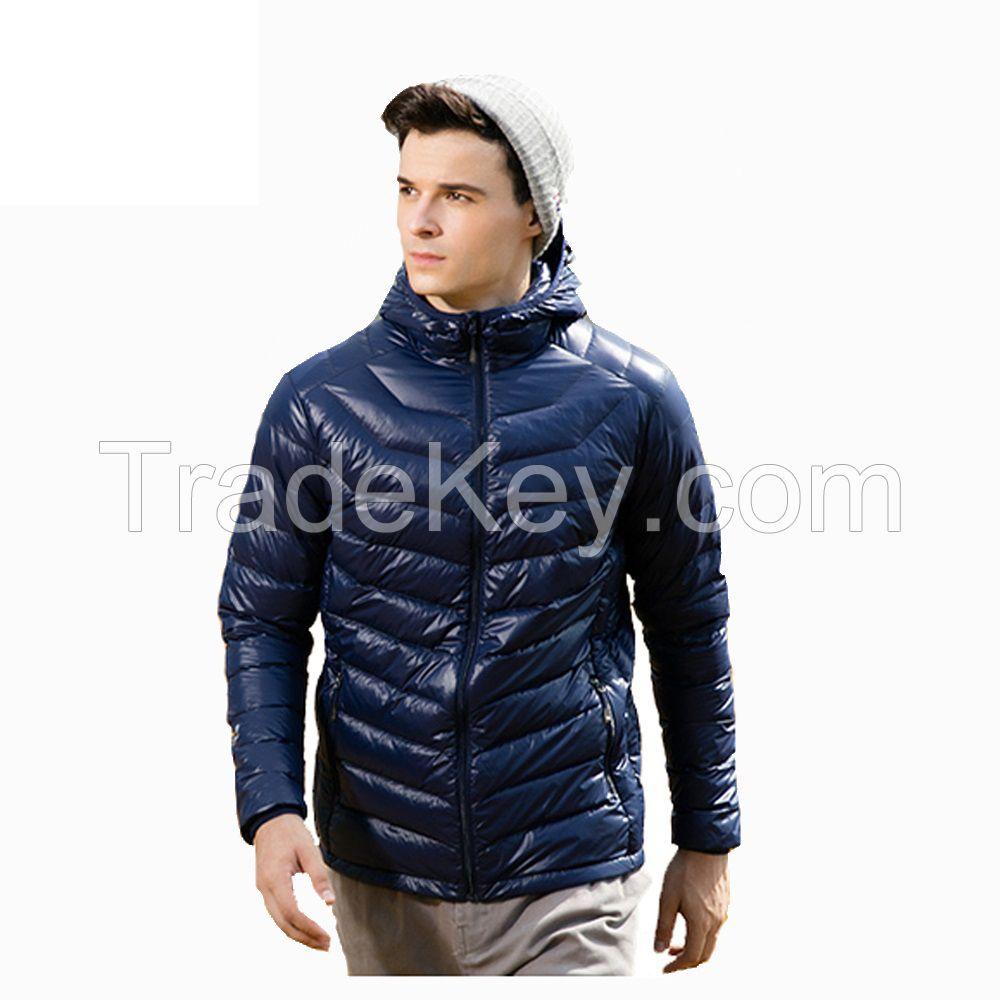 Men Coat Ultralight White Down Winter Stock Clothing
