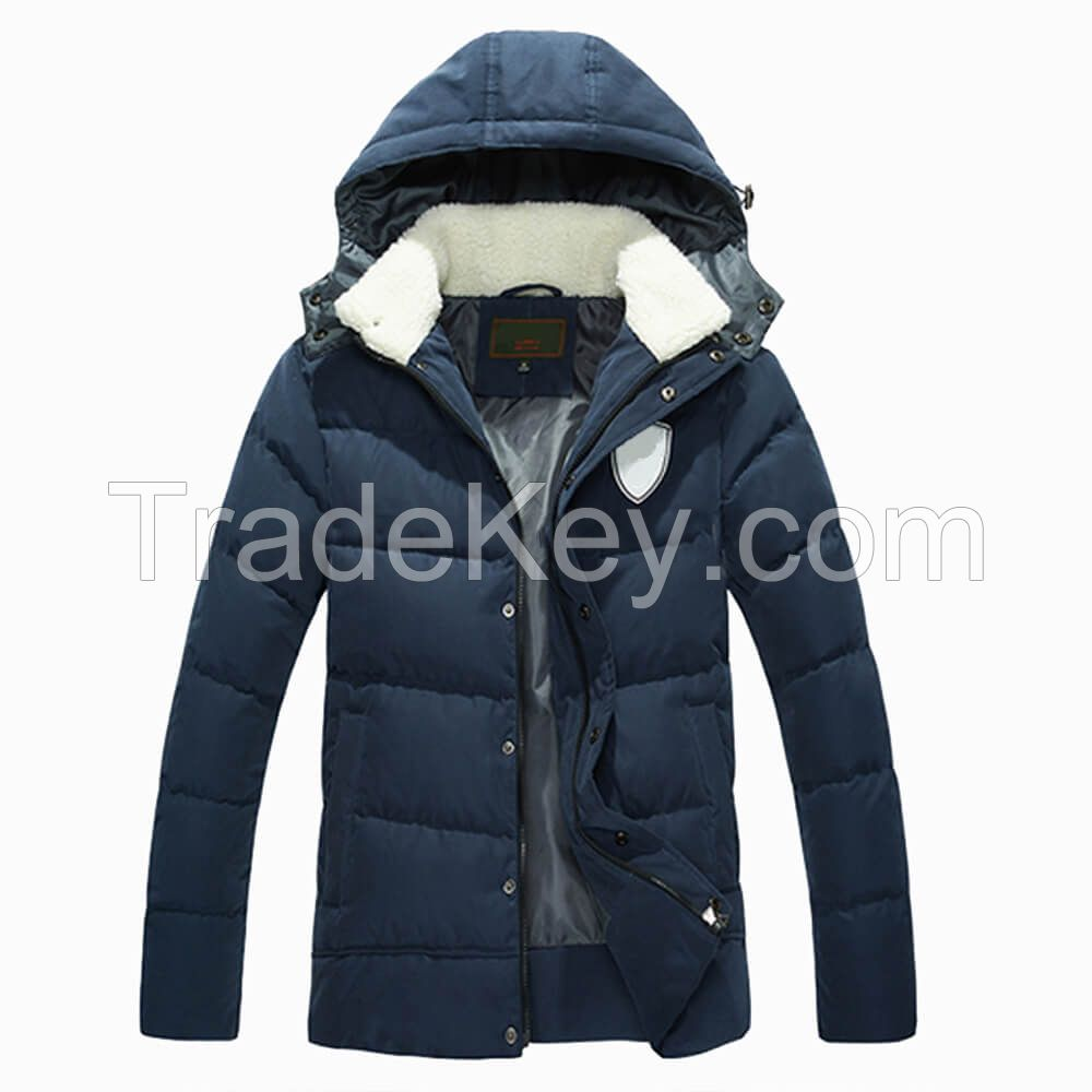 Sports Apparel Manufacturers Winters Down Coat Men Down Jacket With Hood