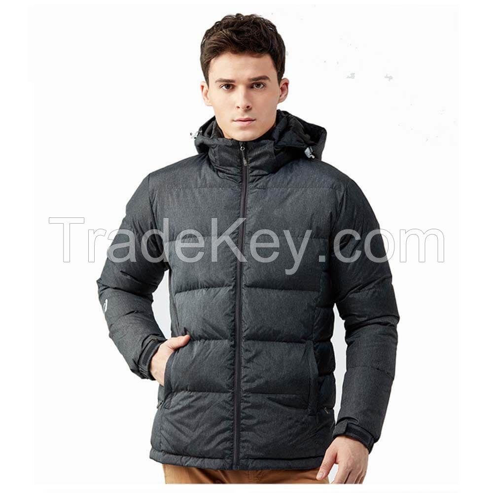 China Supplier Winter Thick Warm Windbreaker Men 100% Nylon Down Jacket