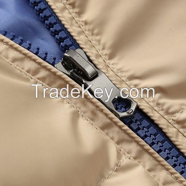 Winter young Korean thick warm coat jacket men detachable cap cotton male boom