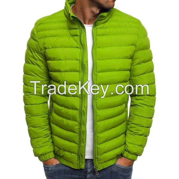 Top Quality Men's Fashion winter warm down Puffer jacket Packable Light Down Jacket Coat