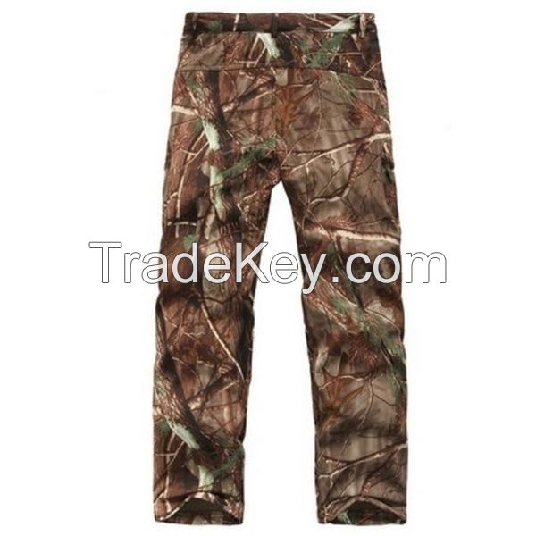 Men's Outdoor Tactical Army Camouflage Uniform Hunting Pants