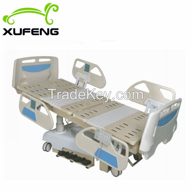 Super luxury 8 function electric hospital care bed with CPR function