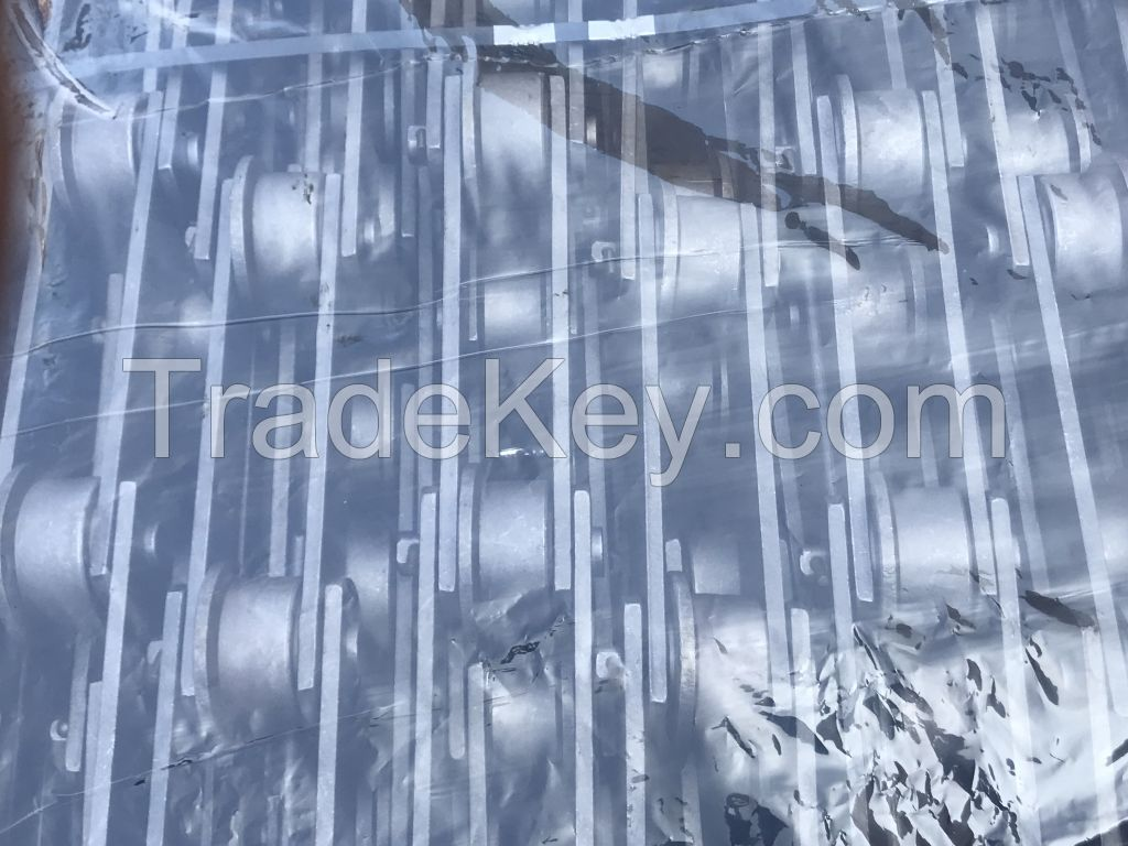 Plate feed chain, slat conveyor chain, large conveyor chain