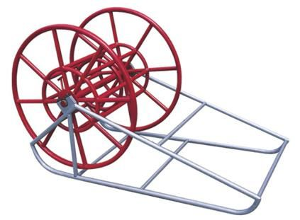 Steel Wire Reel and Stand