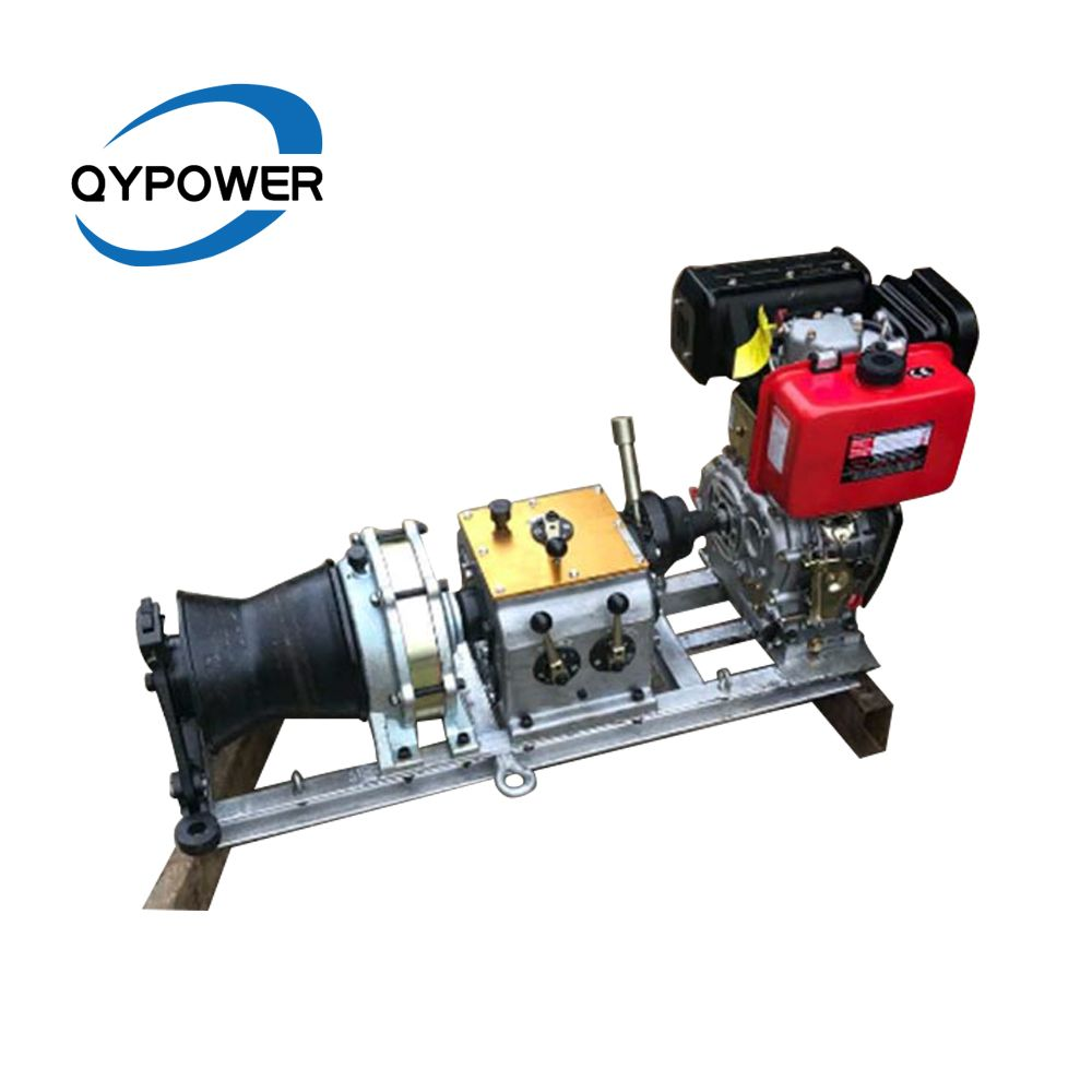 5 Ton High Speed Petrol Powered Winch