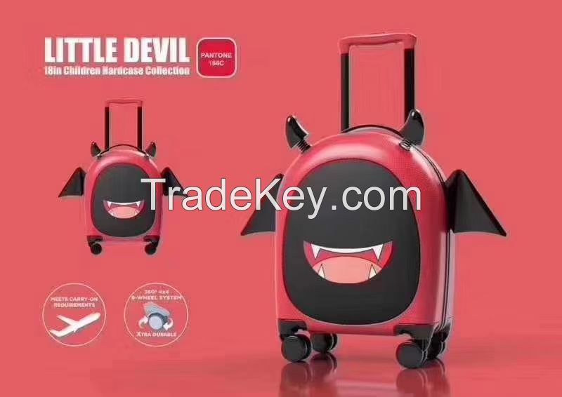 China luggage factory children travel trolley luggage bags cases