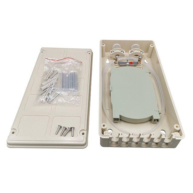 12 port fiber optic terminal box