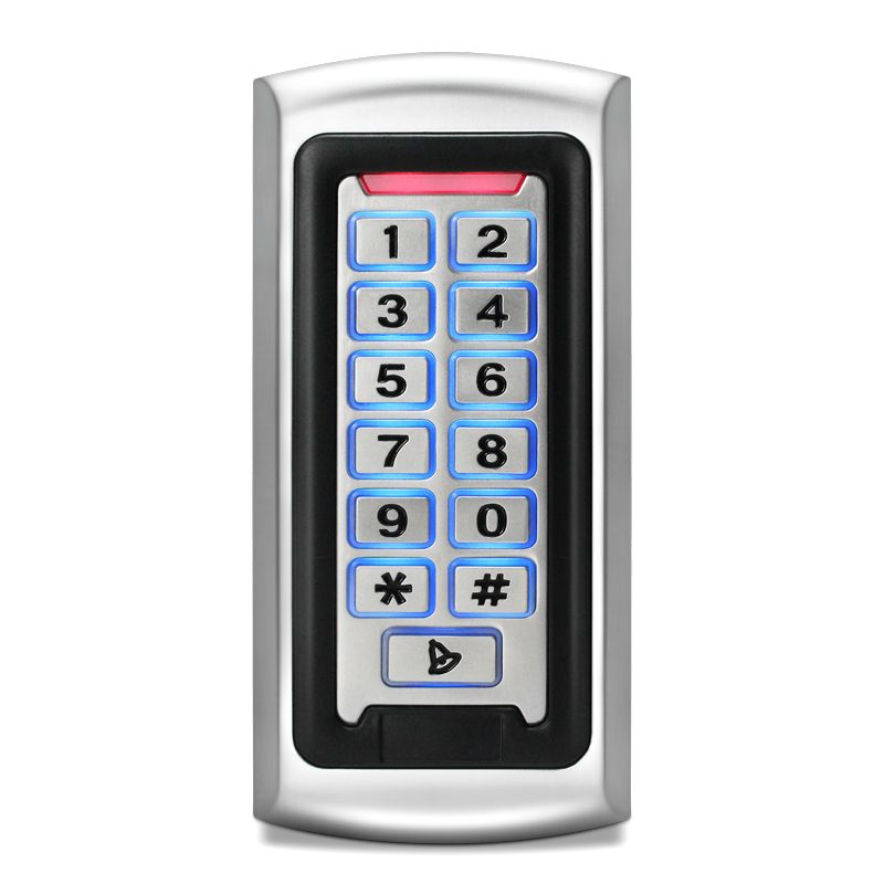 GK28E-W Metal Standalone Door Access Control Device, Card + PIN