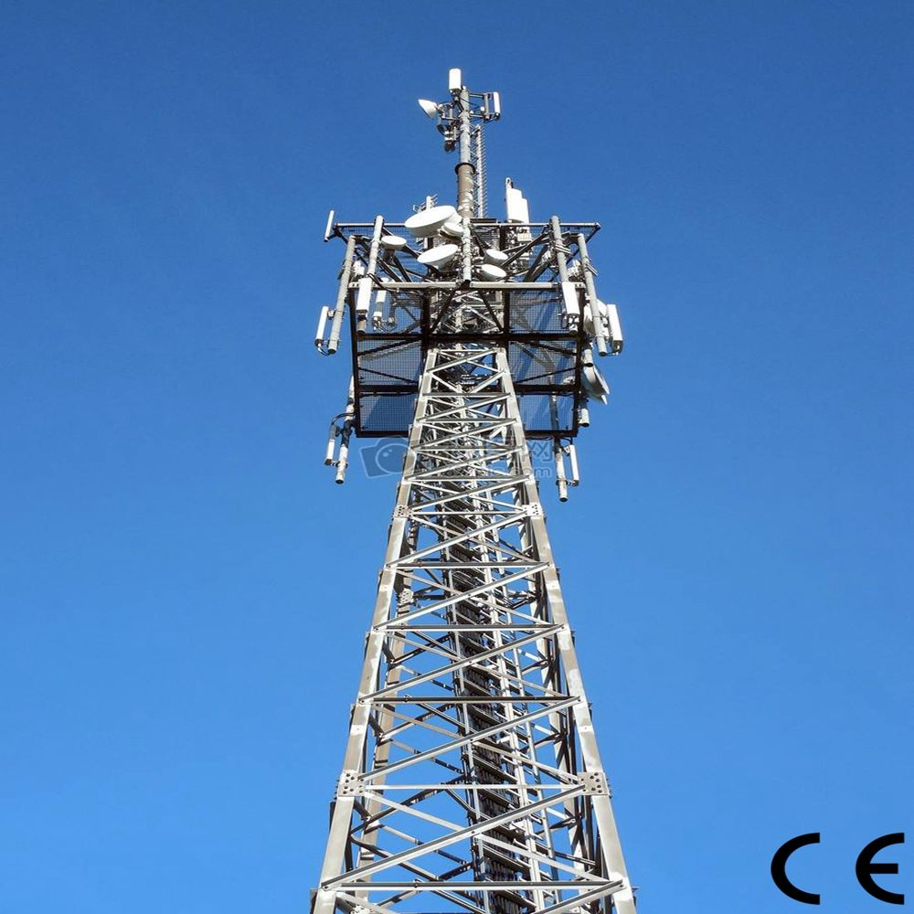 Bestower Power Angle Steel Mobile Transmission Tower