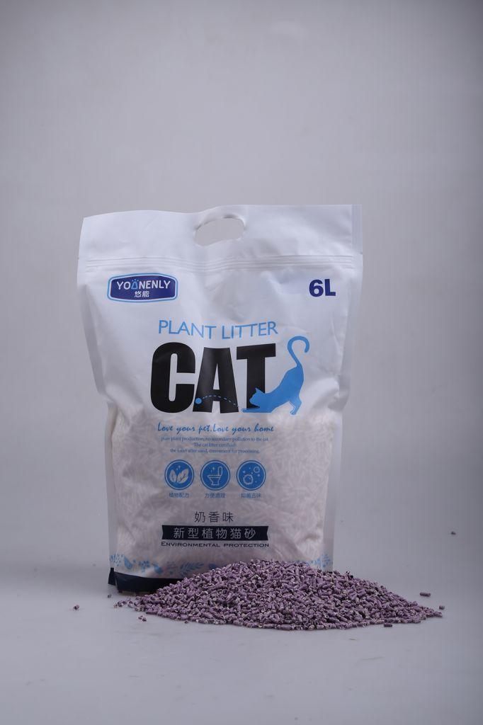 OEM Best Fast Clumping Tofu Cat Litter Manufacturer