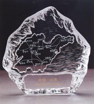 Crystal iceberg