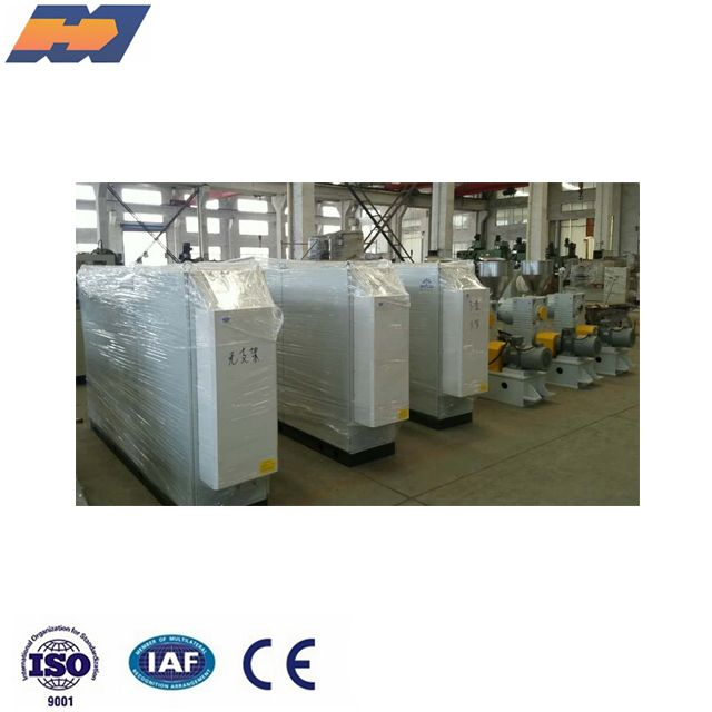 Plastic PVC PS PP PE ABS TPU TPV PPR PEX PERT granules single screw extrude machine extruder
