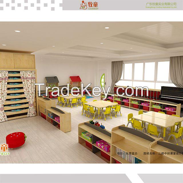 China kids kindergarten school furniture supplier
