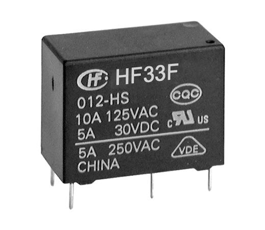 SUBMINIATURE INTERMEDIATE POWER RELAY HF33F