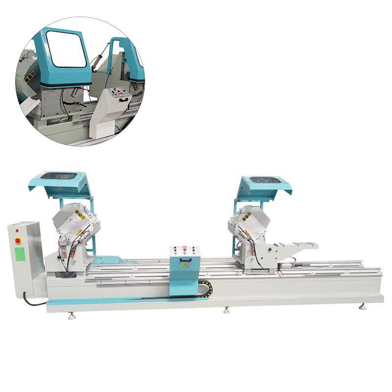 PVC Door Window  Frame  Double Head Precision Cutting Saw Machine
