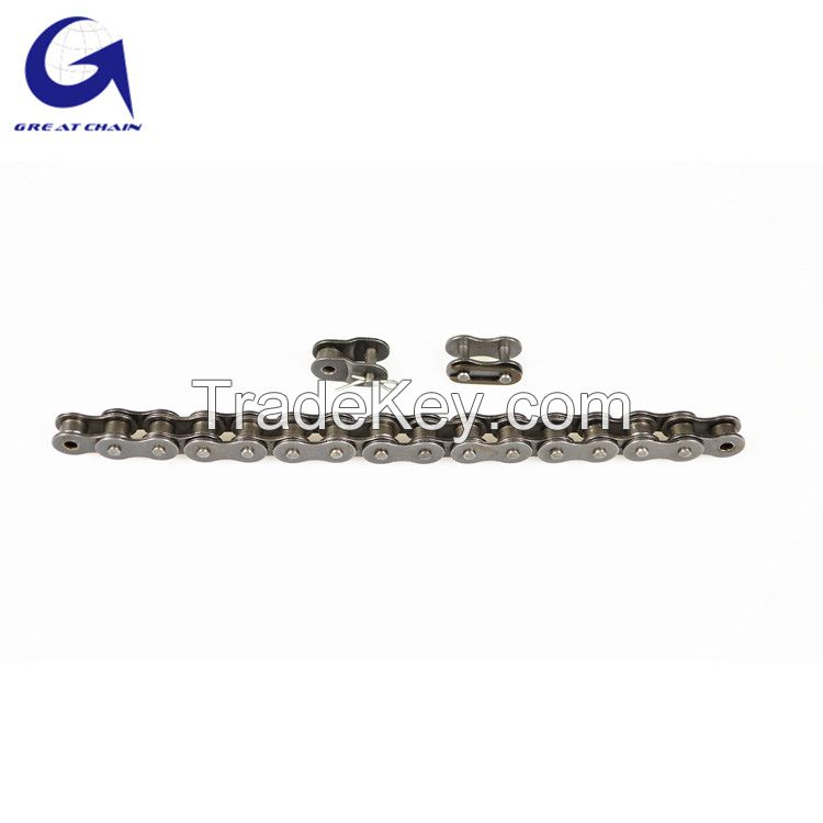 European standard (DIN) 05B small pitch transmission precision roller chain for industrial equipment