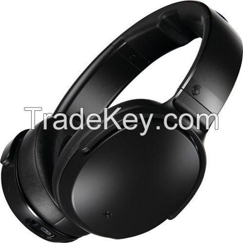 Skullcandy - Venue Wireless Noise Canceling Over-the-Ear Headphones - Black