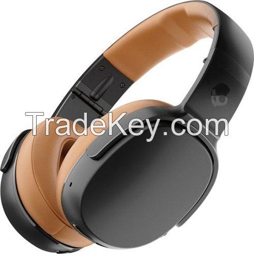 Skullcandy Crusher 360 Wireless Over-the-Ear Headphones - Black and Tan