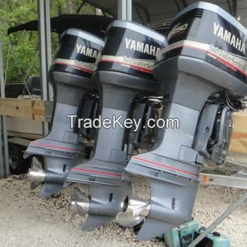 Used Yamaha 150 HP 4 Stroke Outboard Motor Engine