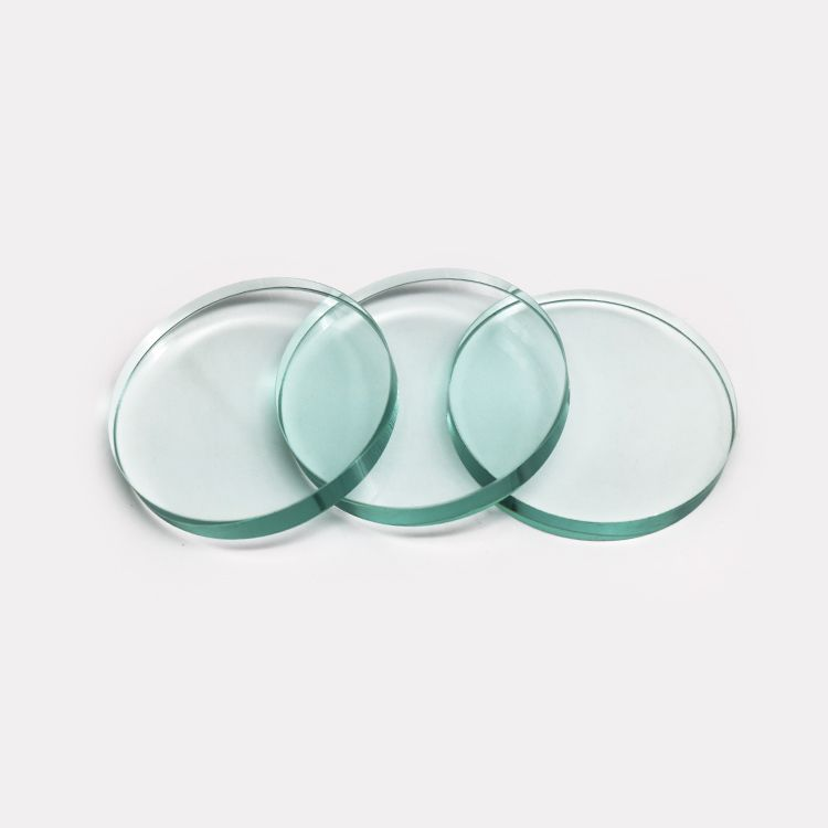 borosilicate circular gauge sight glass customized any thickness of Top