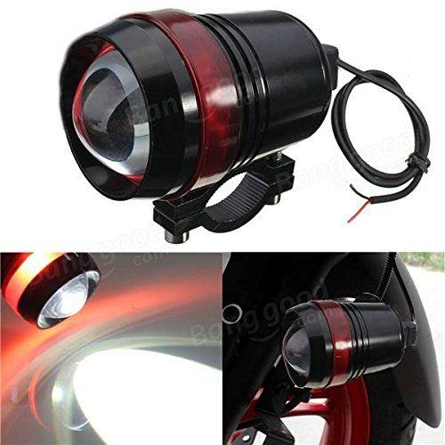 U3 12v led motorcycle light mini fog lamp for motorcycle Waterproof headlight for motorcycle