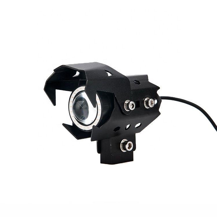 U8 U9 12v led motorcycle light mini fog lamp for motorcycle Waterproof headlight for motorcycle