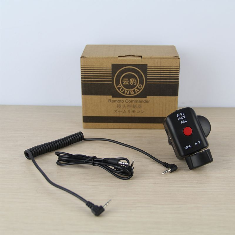 DSLR Camera Pro Zoom Control for Sony LANC A1C 150P Panasonic 180A 130
