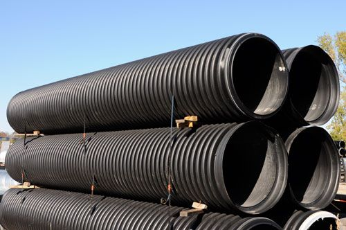 Corrosion Resistant  Potable High Density Polyethylene( HDPE )Pipes for Sewer mains and slurry transfer lines made in china