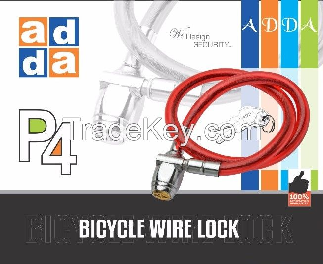 ADDA P4 BICYCLE WIRE LOCK