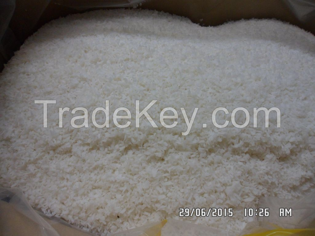 Desiccated coconut high fat