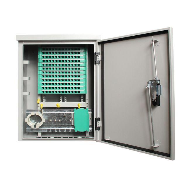 144 Cores Wall-mounted Fiber Optic Splice Cabinet