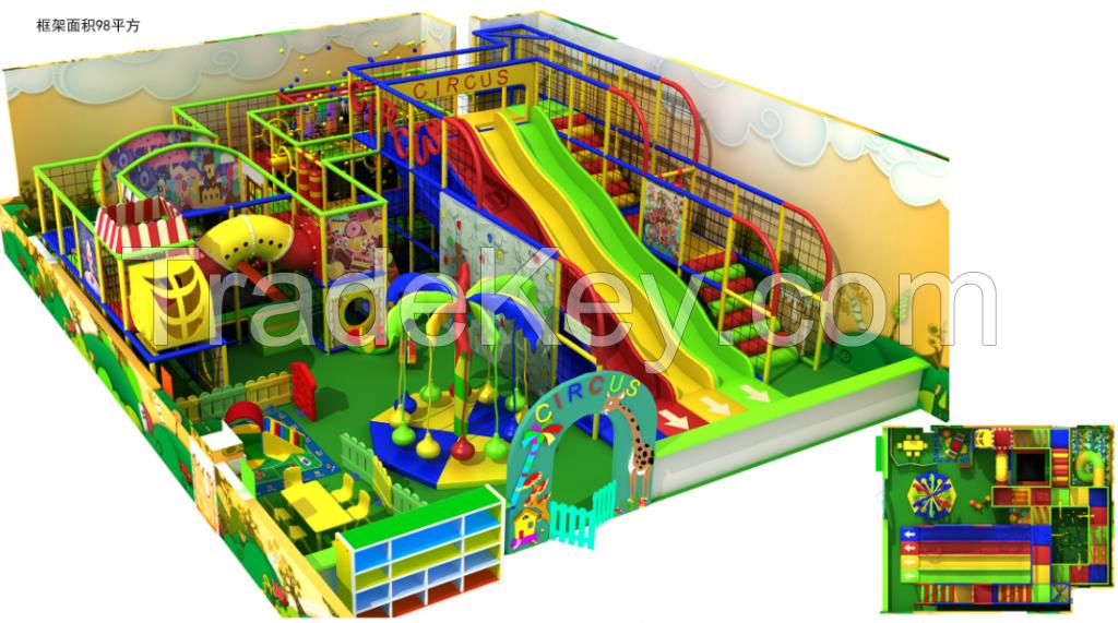 kids indoor playground Park Jungle Theme Playground, playground equipment, Jungle Gym soft play