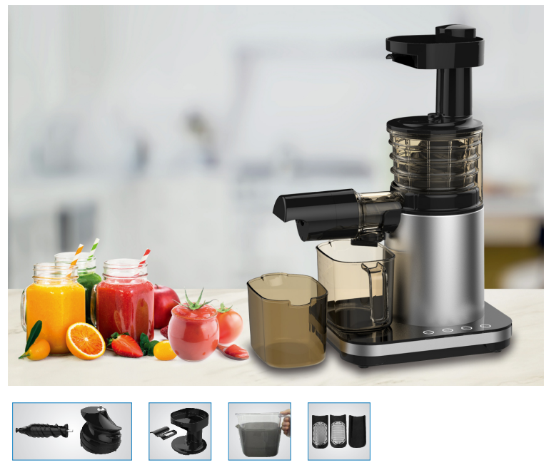Home Appliance Household Electric Citrus Slow Juicer for Kitchen Food Processor