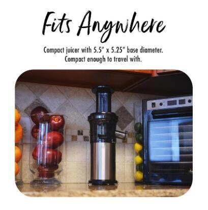 Fruit Vegetable Cold Press Processor Slow Mini Small Juicer