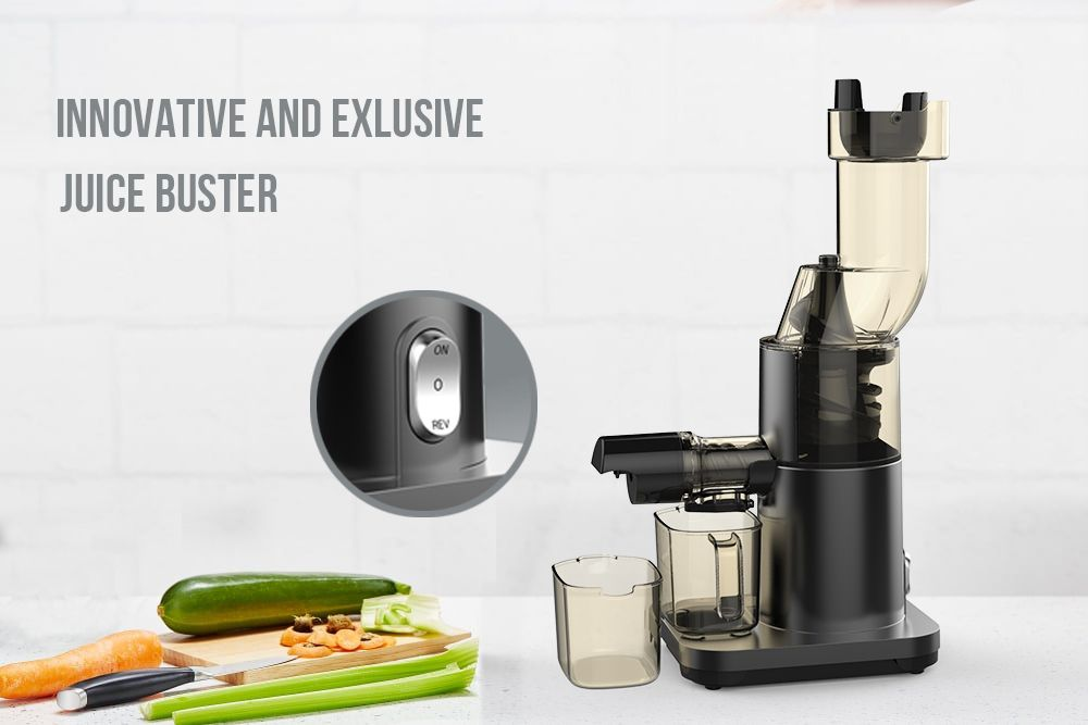 Big Mouth Household Electric Citrus Slow Juicer for Kitchen Food Processor Appliance