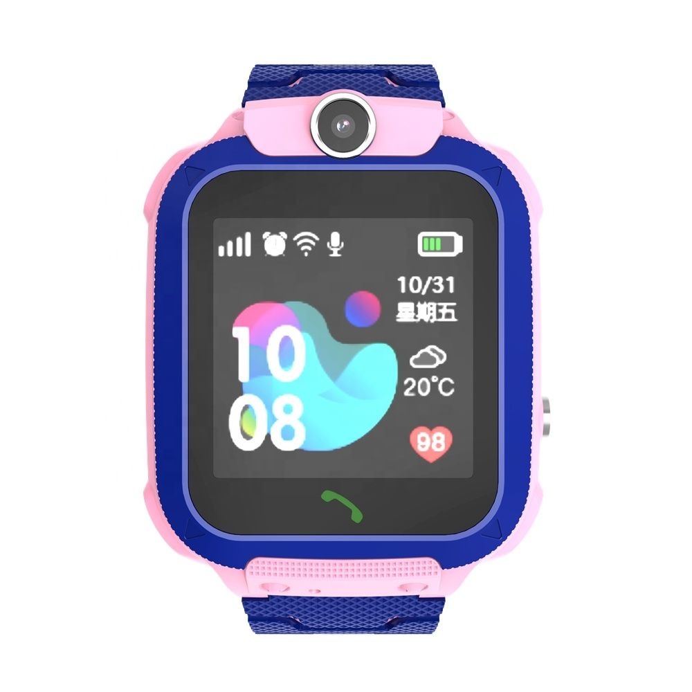 Children Smartwatch Kid GPS Tracker Watch Sos Call Passometer Fitness WiFi Locus for Girls Parent Control by iPhone and Android Smartphones Children