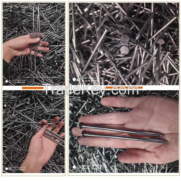 Cheap price and good quality common nails iron nails