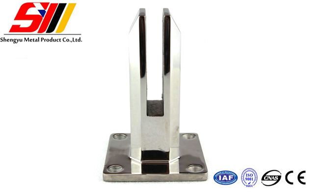 stainless steel glass clamps precision castings glass spigot