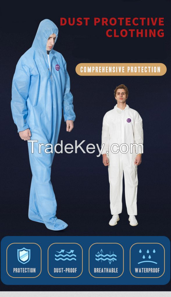 disposable medical coverall nonwoven surgical protective clothing