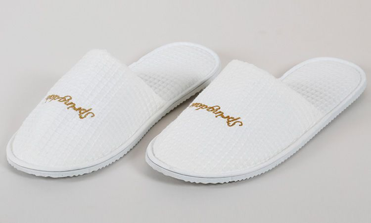 Eliya Cloth Wholesale Disposable White Terry Towel Eva Sole Spa Hotel Slipper