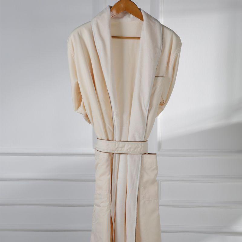 Eliya Organic 100 cotton waffle bath robe/waffle weave cotton robe