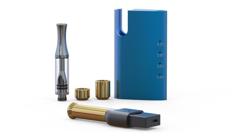 Electronic cigarettes mini-box Product cbdizer and Aluminum Alloy Material High Quality FLIN CBDIZER Box