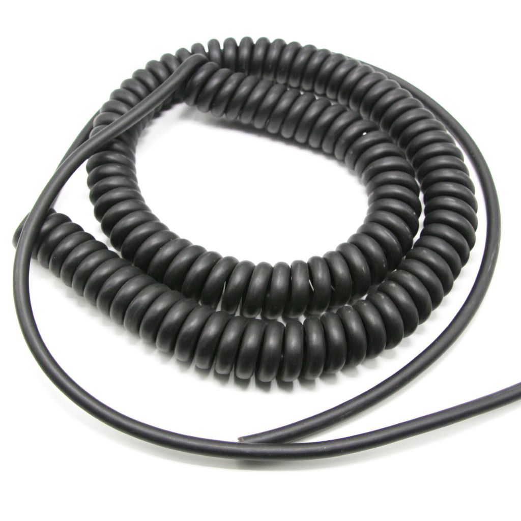 Flexible spring wire cable