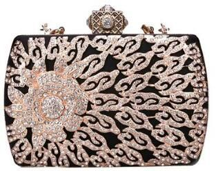 2019 Hot Sale Luxury Beaded Fashion Evening Bag Lady Handbags with Certificate(J)