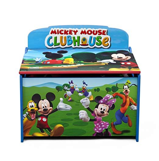 Mickey Deluxe Toy Box