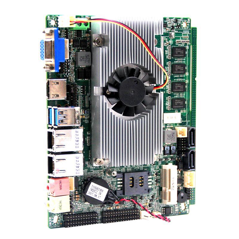 1*Mini-PCIE socket for WIFI/3G embedded industrial tablet motherboard Intel Celeron 1037U processors