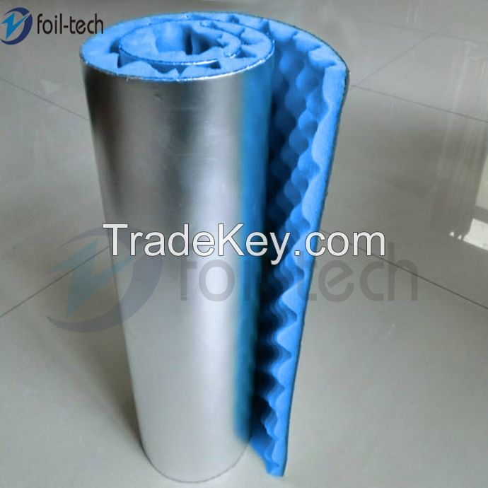 Soundproof acoustic foam Acoustic pipe and duct lagging