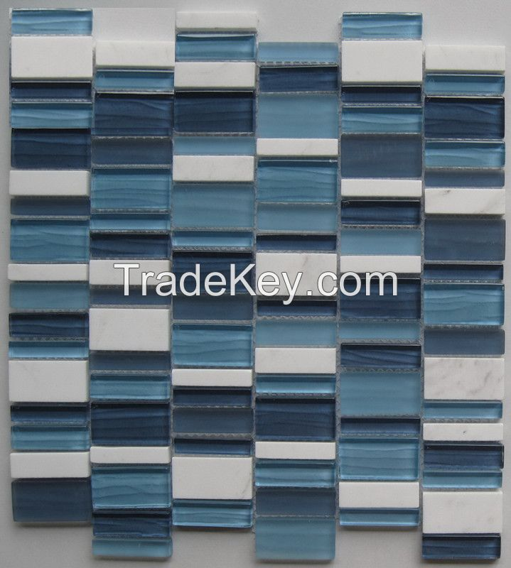 Glass and Stone Mosaic - MD-032RANDMS1P